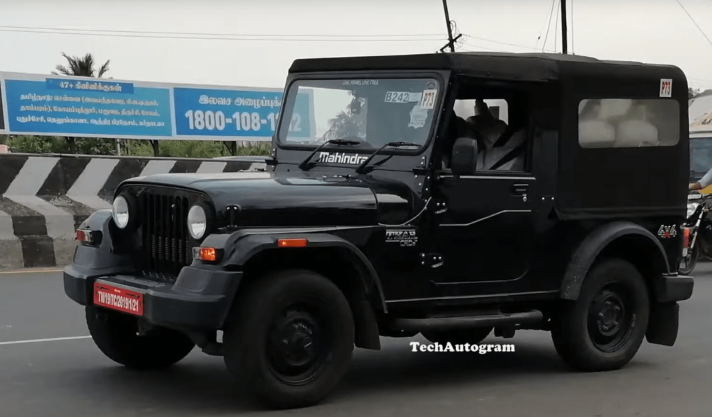 2020 Mahindra Thar To Be Launched Soon 1