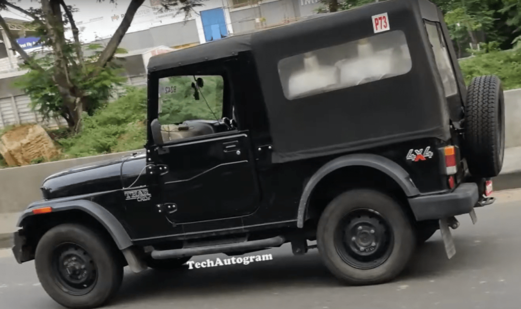 2020 Mahindra Thar To Be Launched Soon 2