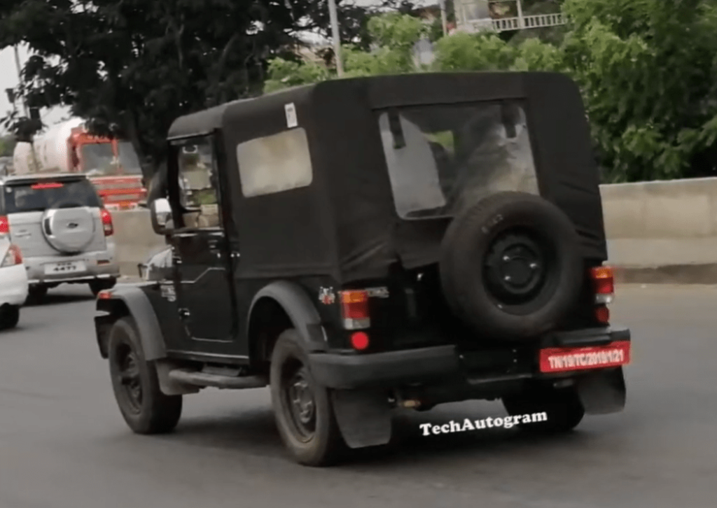 2020 Mahindra Thar To Be Launched Soon 3