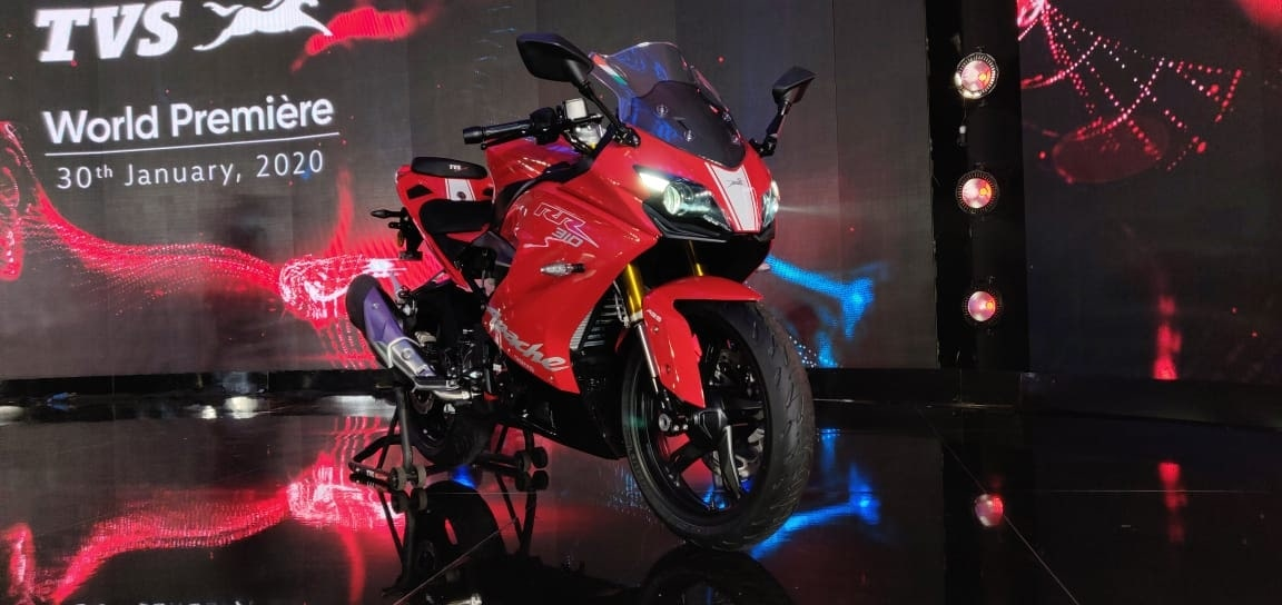 2020 TVS RR310 BS6 Review- What Are The Changes 3