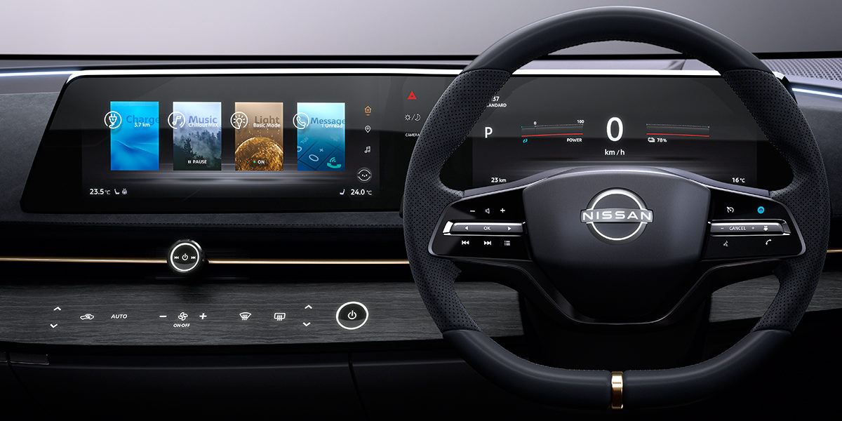 Nissan won't feature vertical touchscreens in future cars
