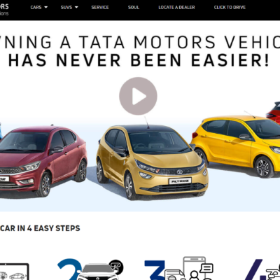 book TATA Cars and SUVs online