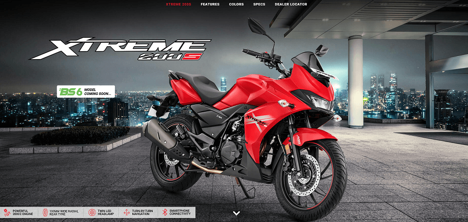 BS6 Hero Xtreme 200S To Be Launched Soon! 1