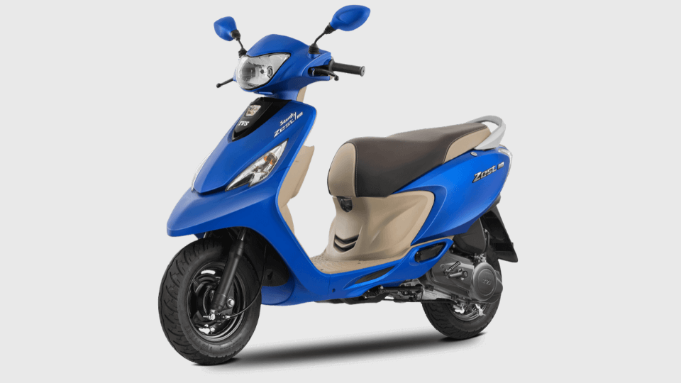 BS6 TVS Scooty Zest 110 To be Launched Soon. Will It Be Costlier Than Before? 2