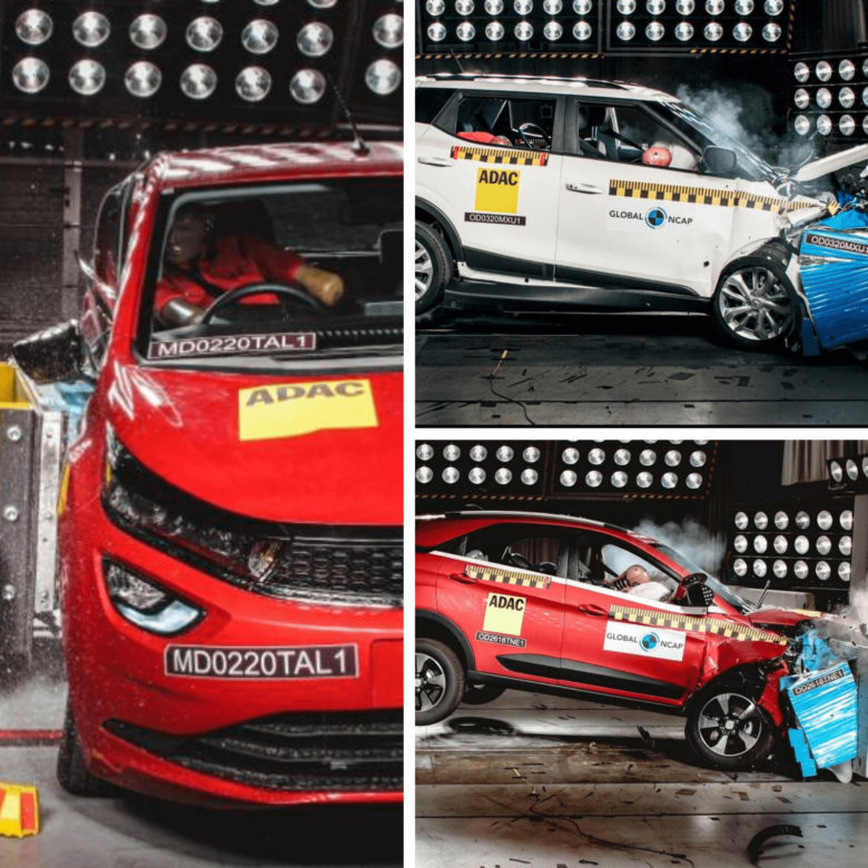 The 10 safest cars in India by Global NCAP