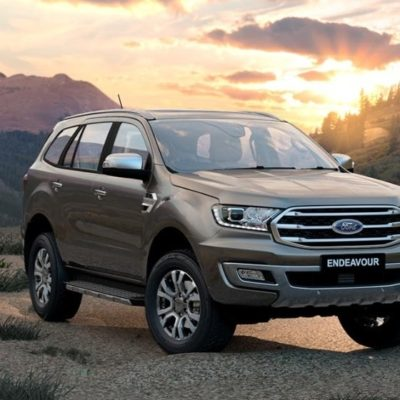 The all-new Ford Endeavour