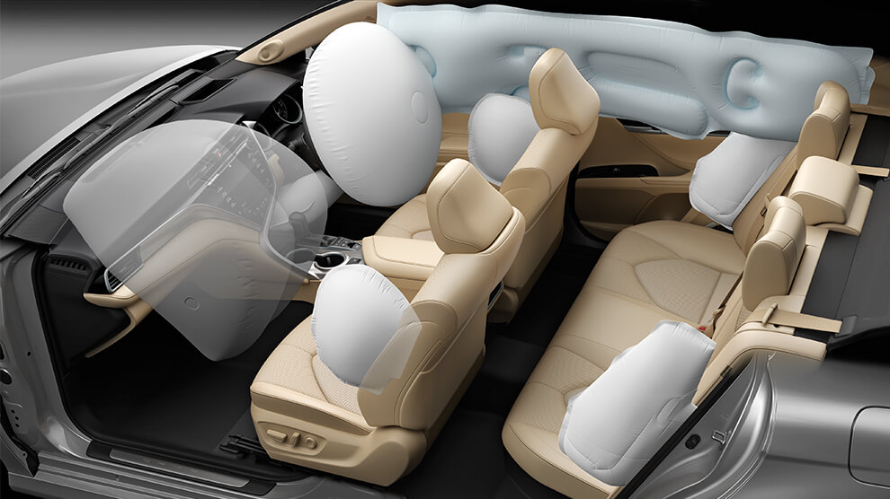 Toyota Camry airbags
