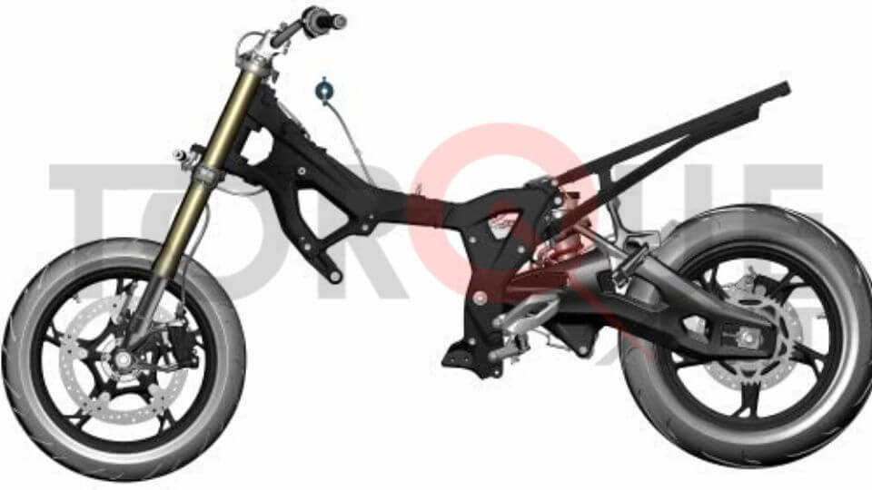 BMW S 1000 XR Pro Chassis