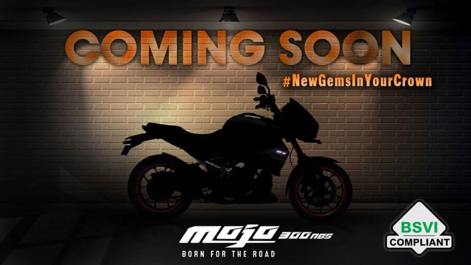 BS6 Mahindra Mojo 300 Teased