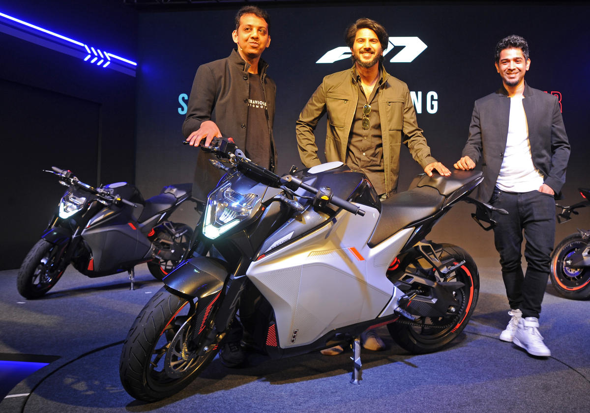 TVS Motors Invests INR 30 Crore In Electric-Motorcycle Company -Ultraviolette Automotive