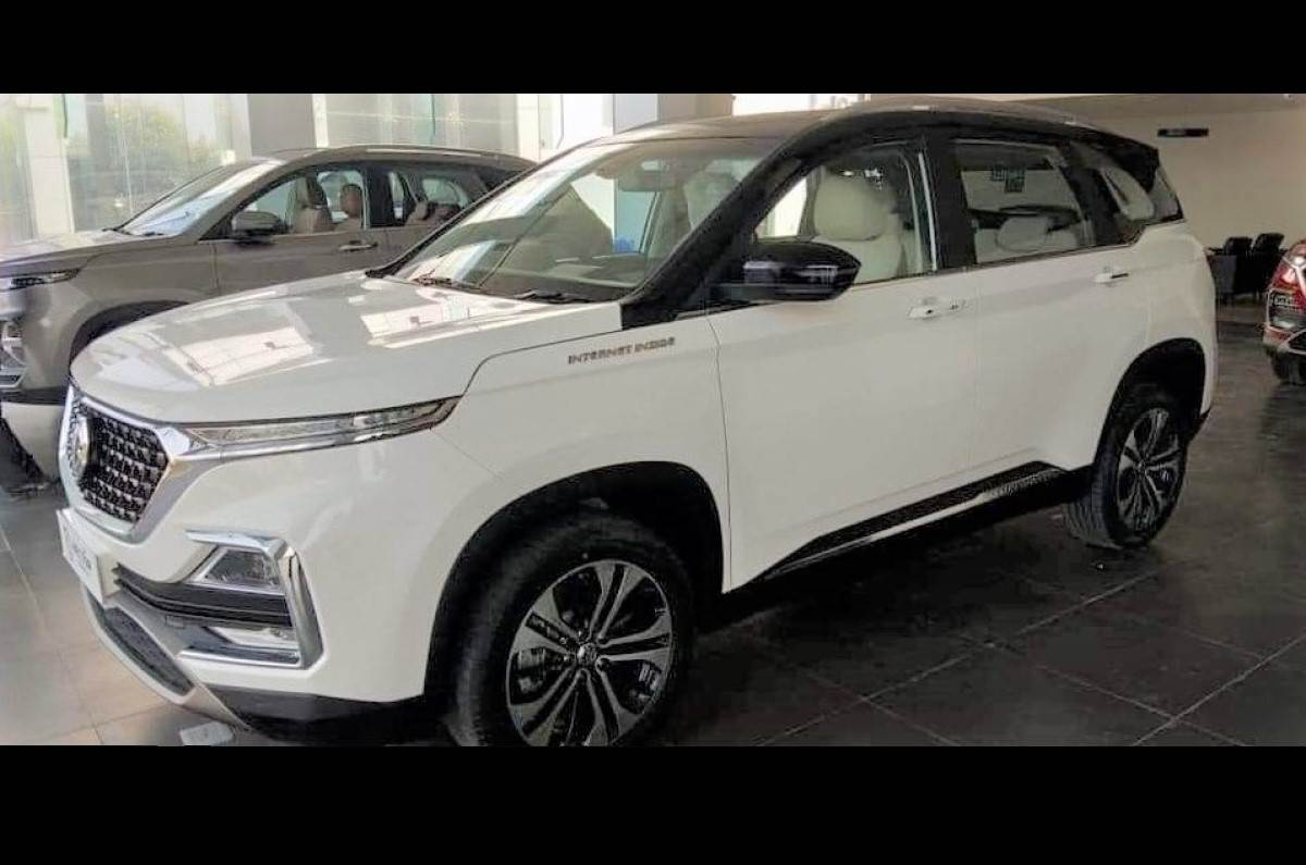 MG Hector Facelift