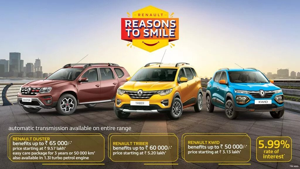 Renault India Have Offered A February 2021 Discount